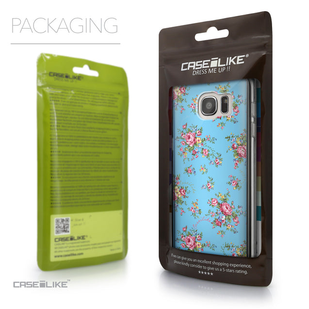 Packaging - CASEiLIKE Samsung Galaxy S7 Edge back cover Floral Rose Classic 2263