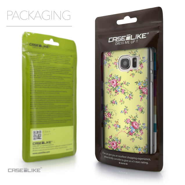 Packaging - CASEiLIKE Samsung Galaxy S7 Edge back cover Floral Rose Classic 2264