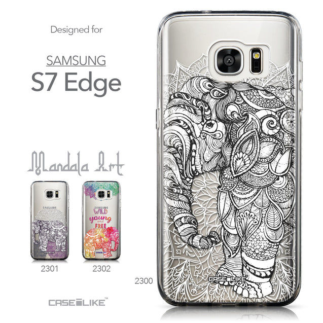 Collection - CASEiLIKE Samsung Galaxy S7 Edge back cover Mandala Art 2300