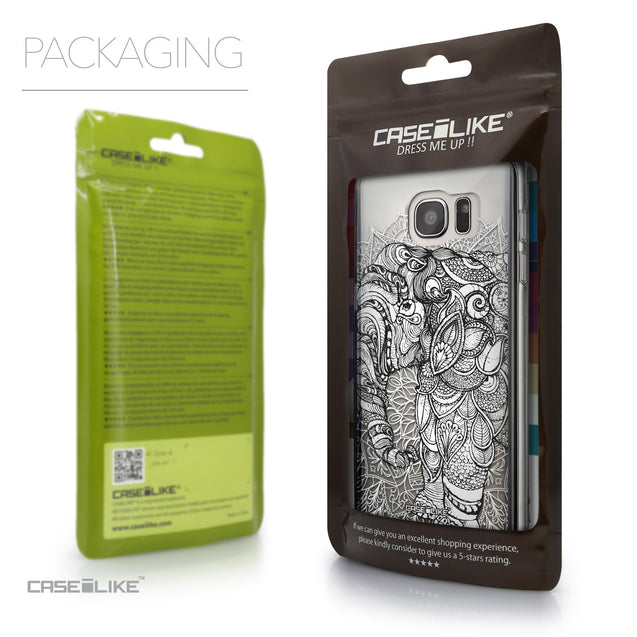 Packaging - CASEiLIKE Samsung Galaxy S7 Edge back cover Mandala Art 2300