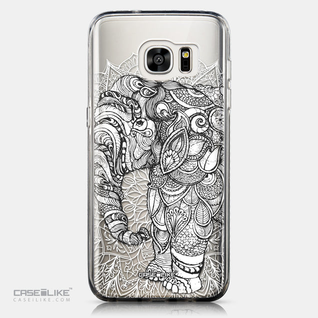 CASEiLIKE Samsung Galaxy S7 Edge back cover Mandala Art 2300