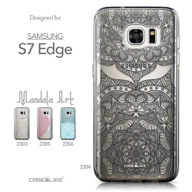 Collection - CASEiLIKE Samsung Galaxy S7 Edge back cover Mandala Art 2304