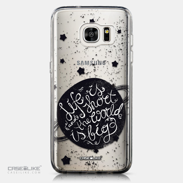 CASEiLIKE Samsung Galaxy S7 Edge back cover Quote 2401