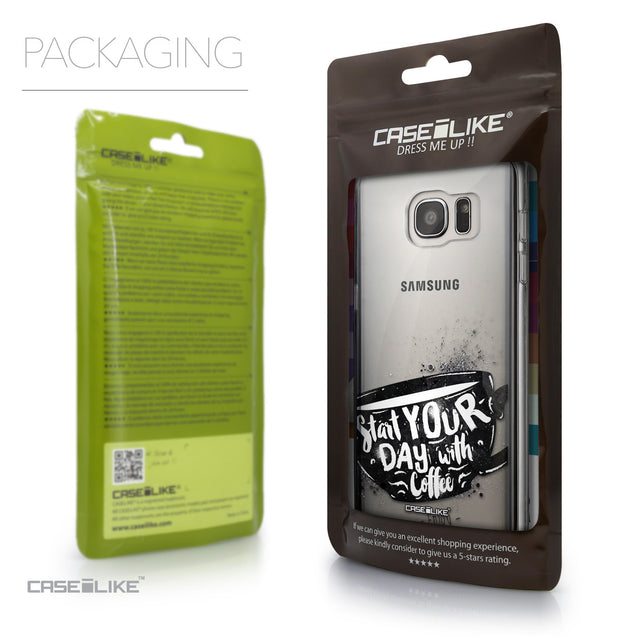 Packaging - CASEiLIKE Samsung Galaxy S7 Edge back cover Quote 2402