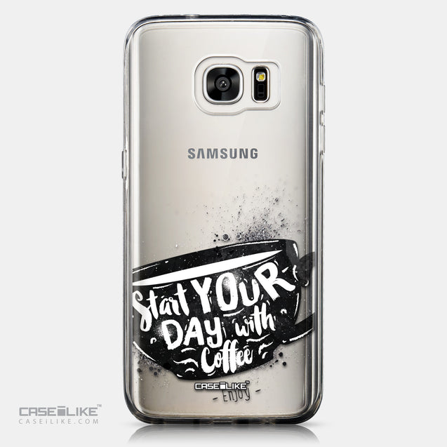 CASEiLIKE Samsung Galaxy S7 Edge back cover Quote 2402