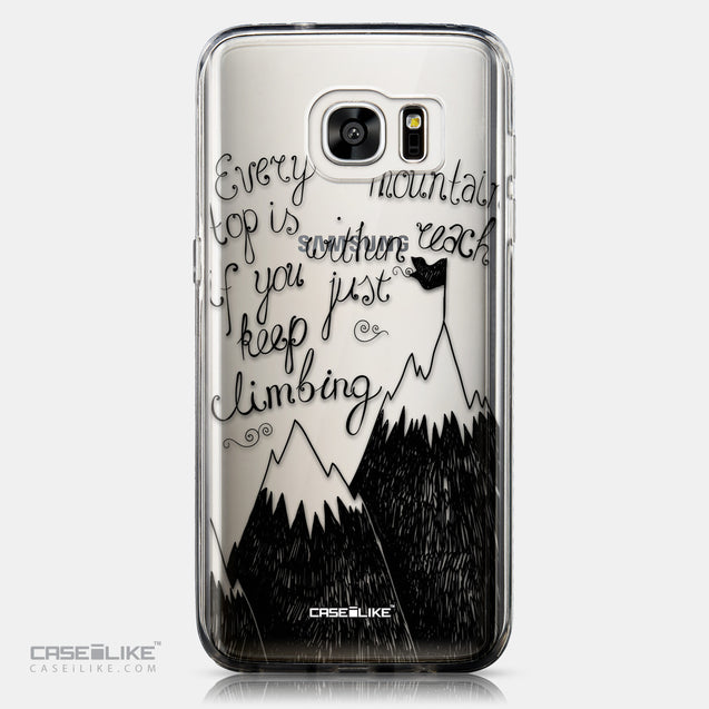CASEiLIKE Samsung Galaxy S7 Edge back cover Quote 2403