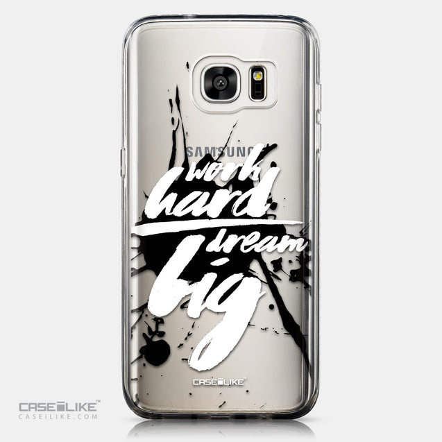 CASEiLIKE Samsung Galaxy S7 Edge back cover Quote 2414