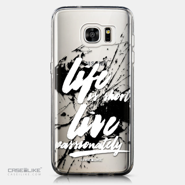 CASEiLIKE Samsung Galaxy S7 Edge back cover Quote 2416