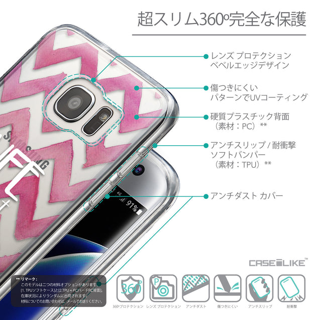 Details in Japanese - CASEiLIKE Samsung Galaxy S7 Edge back cover Quote 2419