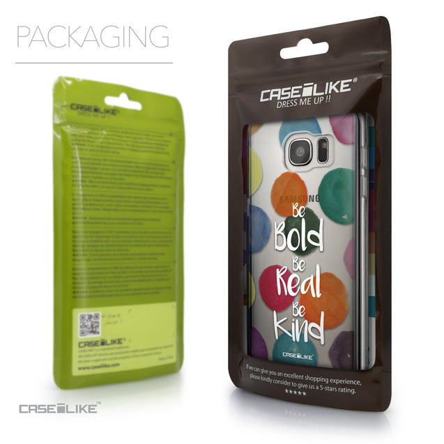 Packaging - CASEiLIKE Samsung Galaxy S7 Edge back cover Quote 2420