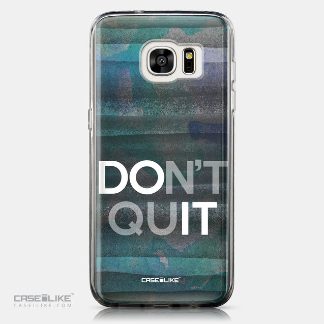 CASEiLIKE Samsung Galaxy S7 Edge back cover Quote 2431