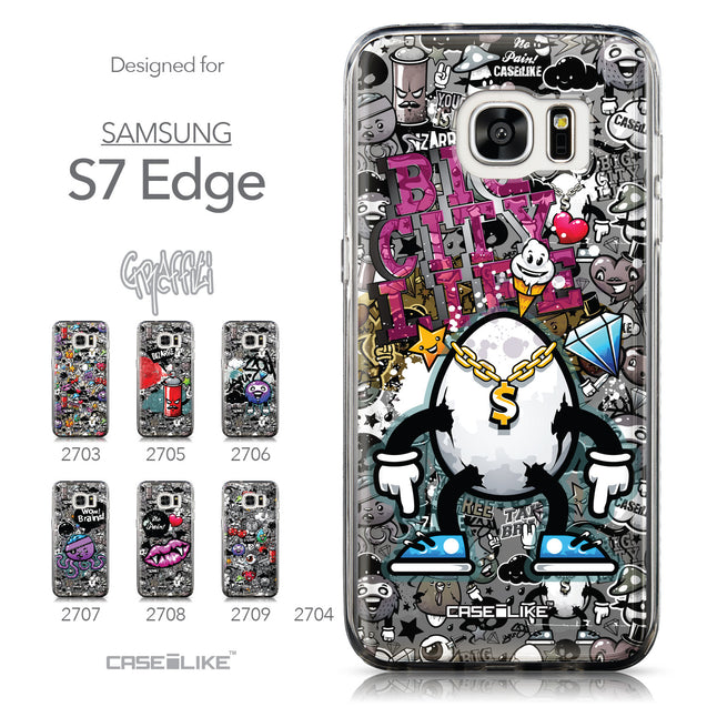 Collection - CASEiLIKE Samsung Galaxy S7 Edge back cover Graffiti 2704