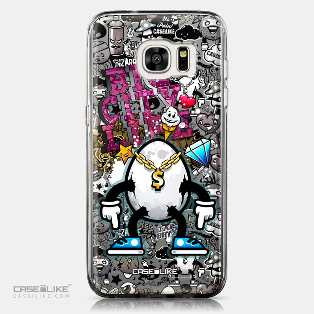CASEiLIKE Samsung Galaxy S7 Edge back cover Graffiti 2704