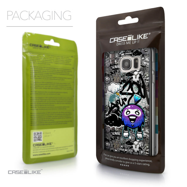 Packaging - CASEiLIKE Samsung Galaxy S7 Edge back cover Graffiti 2706