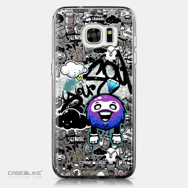 CASEiLIKE Samsung Galaxy S7 Edge back cover Graffiti 2706