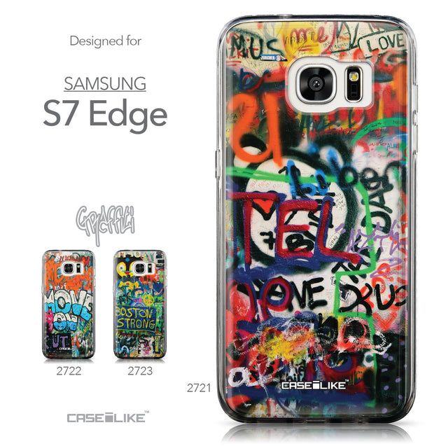 Collection - CASEiLIKE Samsung Galaxy S7 Edge back cover Graffiti 2721