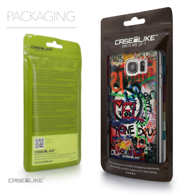 Packaging - CASEiLIKE Samsung Galaxy S7 Edge back cover Graffiti 2721