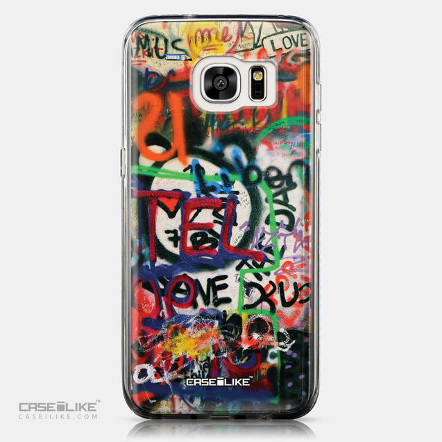 CASEiLIKE Samsung Galaxy S7 Edge back cover Graffiti 2721