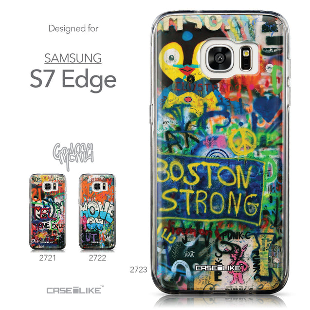 Collection - CASEiLIKE Samsung Galaxy S7 Edge back cover Graffiti 2723