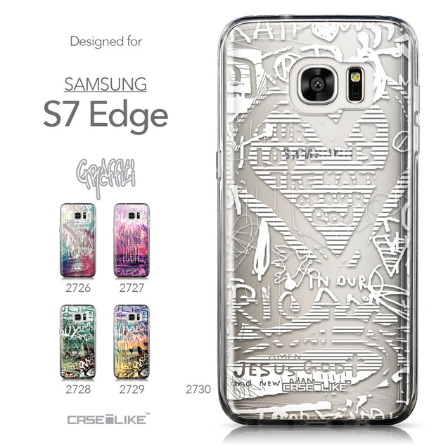 Collection - CASEiLIKE Samsung Galaxy S7 Edge back cover Graffiti 2730