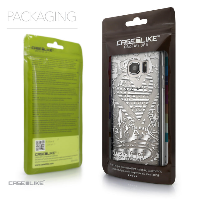 Packaging - CASEiLIKE Samsung Galaxy S7 Edge back cover Graffiti 2730