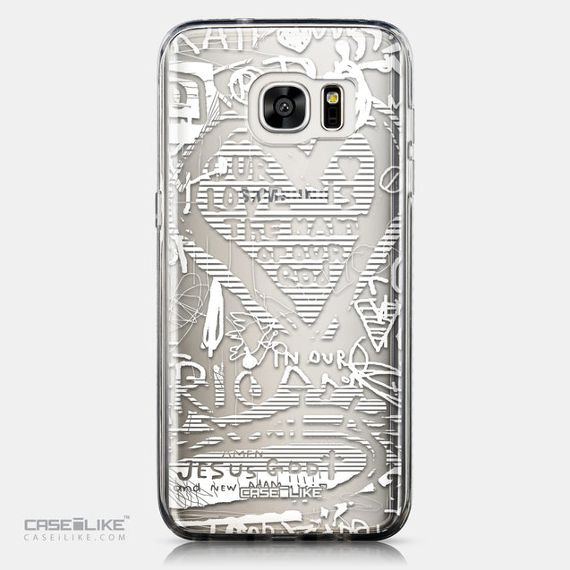 CASEiLIKE Samsung Galaxy S7 Edge back cover Graffiti 2730
