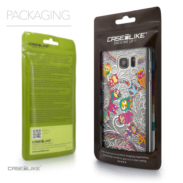 Packaging - CASEiLIKE Samsung Galaxy S7 Edge back cover Owl Graphic Design 3316