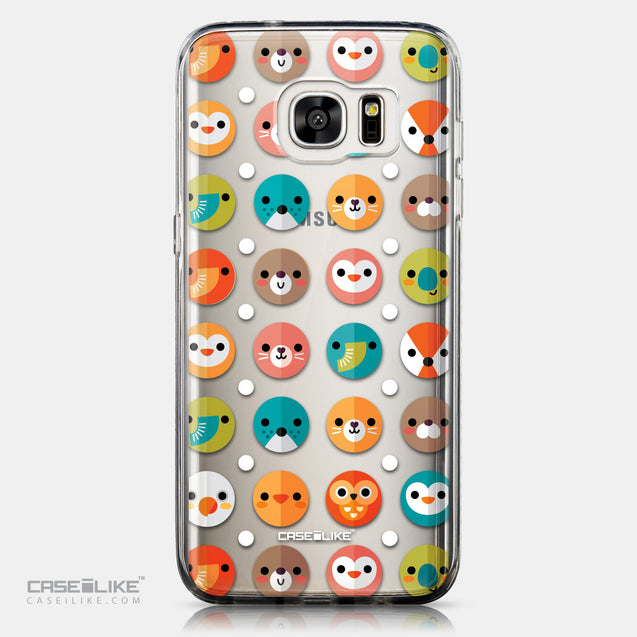CASEiLIKE Samsung Galaxy S7 Edge back cover Animal Cartoon 3638