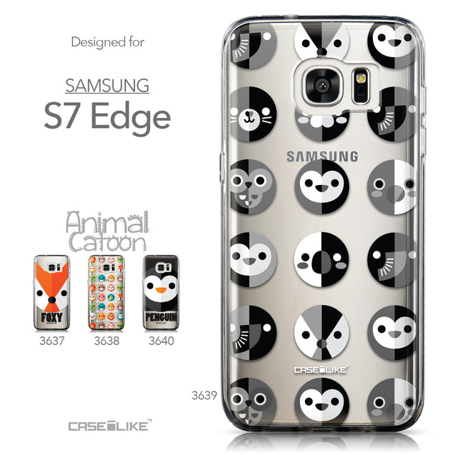 Collection - CASEiLIKE Samsung Galaxy S7 Edge back cover Animal Cartoon 3639