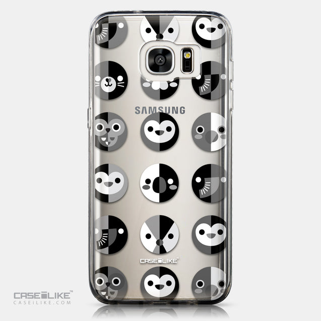 CASEiLIKE Samsung Galaxy S7 Edge back cover Animal Cartoon 3639
