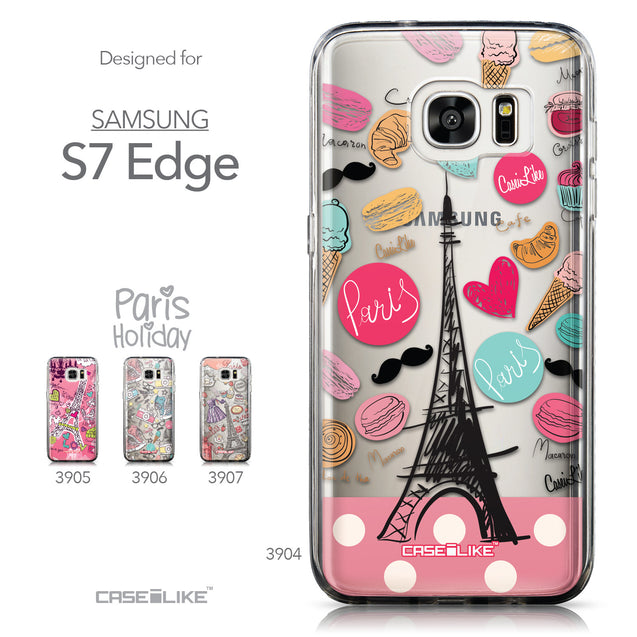 Collection - CASEiLIKE Samsung Galaxy S7 Edge back cover Paris Holiday 3904