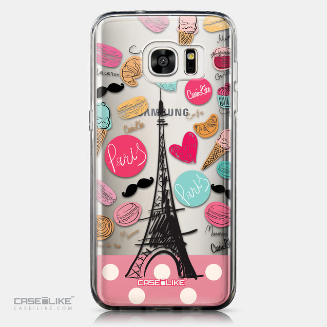 CASEiLIKE Samsung Galaxy S7 Edge back cover Paris Holiday 3904