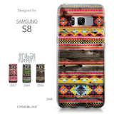 Samsung Galaxy S8 case Indian Tribal Theme Pattern 2048 Collection | CASEiLIKE.com