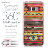 Samsung Galaxy S8 case Indian Tribal Theme Pattern 2048 Bumper Case Protection | CASEiLIKE.com