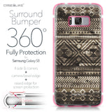 Samsung Galaxy S8 case Indian Tribal Theme Pattern 2050 Bumper Case Protection | CASEiLIKE.com