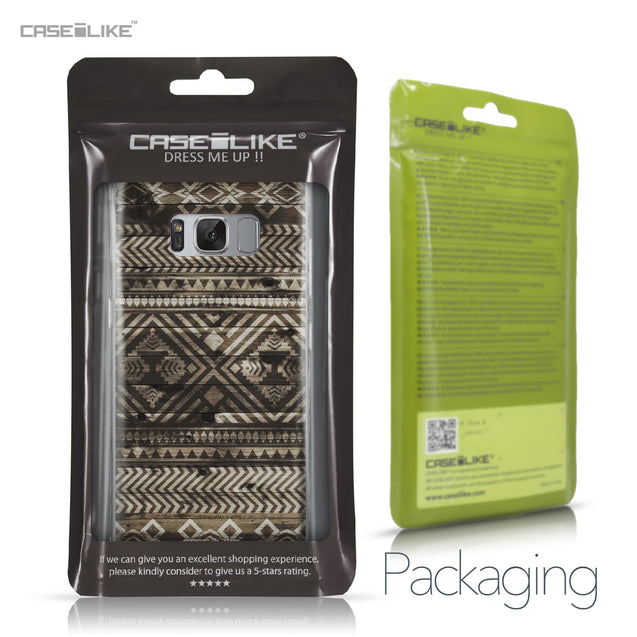 Samsung Galaxy S8 case Indian Tribal Theme Pattern 2050 Retail Packaging | CASEiLIKE.com