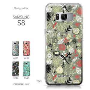 Samsung Galaxy S8 case Spring Forest Gray 2243 Collection | CASEiLIKE.com