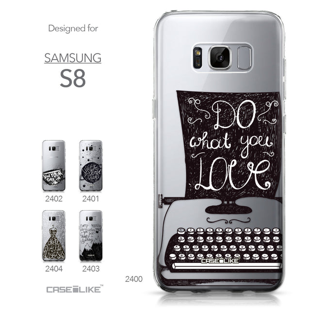 Samsung Galaxy S8 case Quote 2400 Collection | CASEiLIKE.com