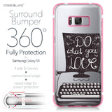 Samsung Galaxy S8 case Quote 2400 Bumper Case Protection | CASEiLIKE.com