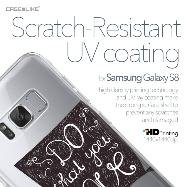 Samsung Galaxy S8 case Quote 2400 with UV-Coating Scratch-Resistant Case | CASEiLIKE.com