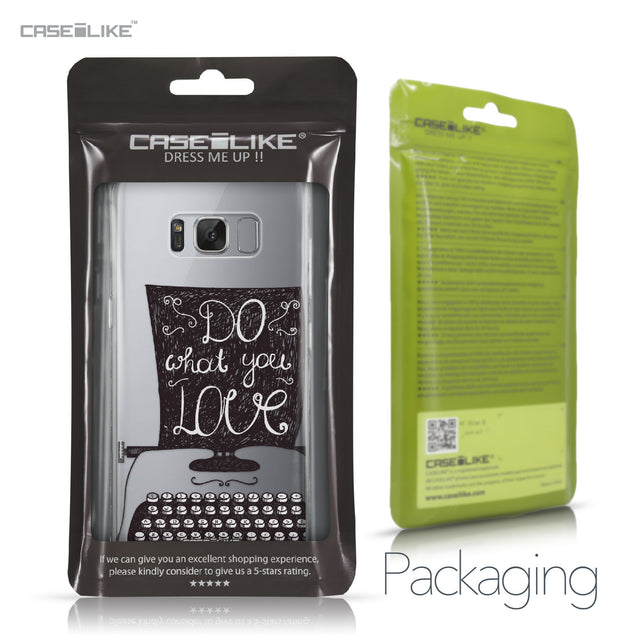 Samsung Galaxy S8 case Quote 2400 Retail Packaging | CASEiLIKE.com