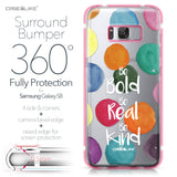 Samsung Galaxy S8 case Quote 2420 Bumper Case Protection | CASEiLIKE.com