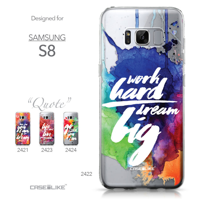 Samsung Galaxy S8 case Quote 2422 Collection | CASEiLIKE.com