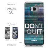 Samsung Galaxy S8 case Quote 2431 Collection | CASEiLIKE.com