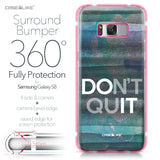 Samsung Galaxy S8 case Quote 2431 Bumper Case Protection | CASEiLIKE.com