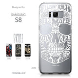 Samsung Galaxy S8 case Art of Skull 2530 Collection | CASEiLIKE.com