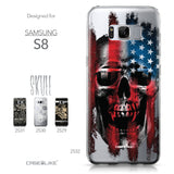 Samsung Galaxy S8 case Art of Skull 2532 Collection | CASEiLIKE.com