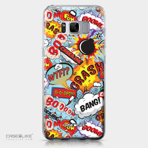 Samsung Galaxy S8 case Comic Captions Blue 2913 | CASEiLIKE.com