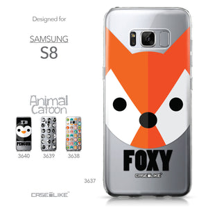 Samsung Galaxy S8 case Animal Cartoon 3637 Collection | CASEiLIKE.com