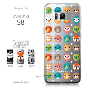 Samsung Galaxy S8 case Animal Cartoon 3638 Collection | CASEiLIKE.com